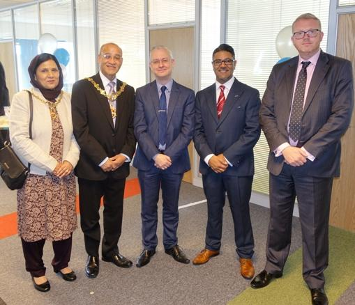 Mayor of Dudley visits Insurance Protector