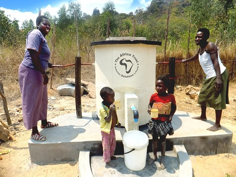 Insurance Protector's Africa Well Project